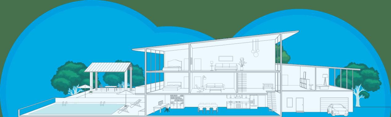 orbi ein wlan system f r bessere verbindungen in ihrem. Black Bedroom Furniture Sets. Home Design Ideas