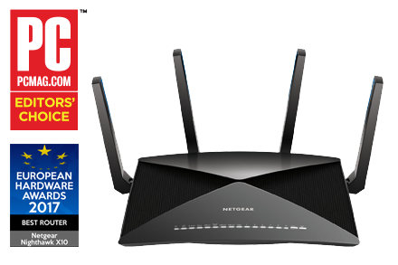 Nighthawk<sup><sup>®</sup></sup> X10 Smart-WLAN-Router