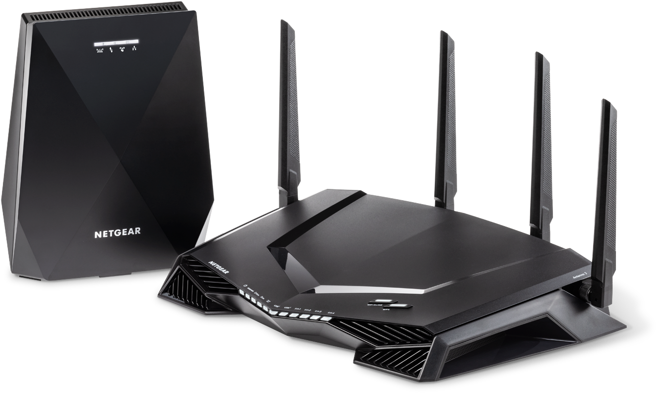 Nighthawk<sup><sup>®</sup></sup> Pro Gaming WLAN-Router und Mesh-System.