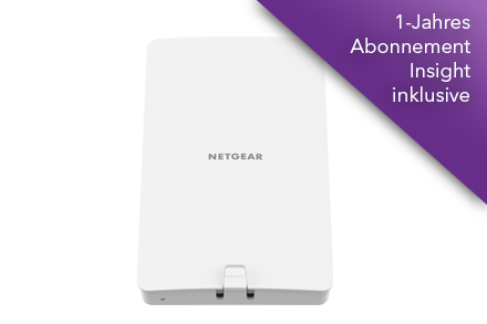NETGEAR<sup>®</sup> Insight Managed WiFi 6 AX1800 Dualband Access Point (WAX610Y)